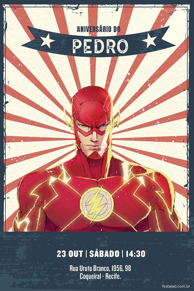 Criar convite de aniversário - Flash | Festalab