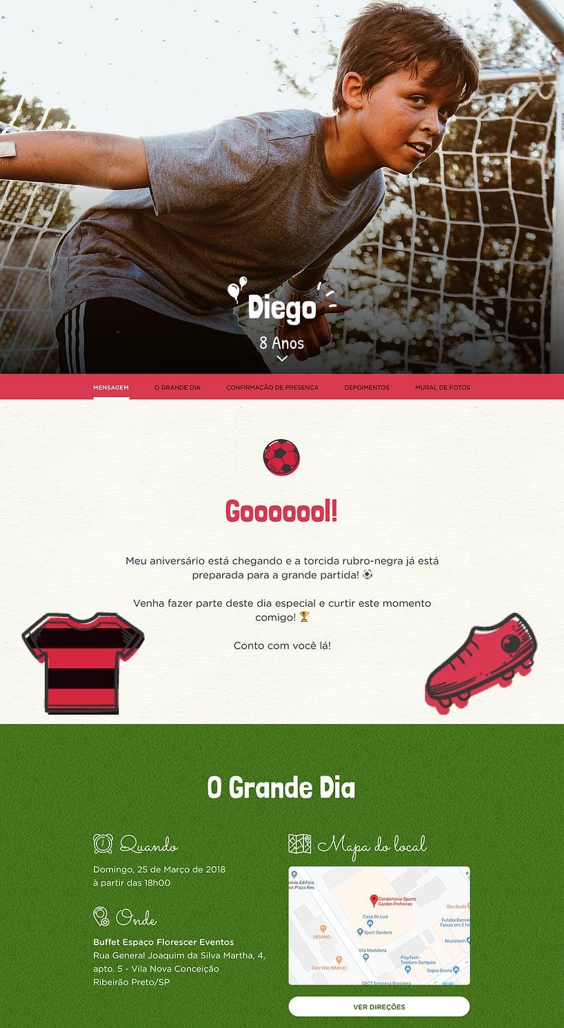 Vibe de Aniversario - Flamengo