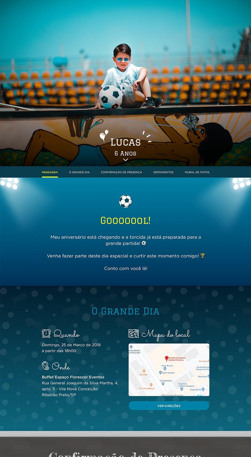 Vibe de Aniversario - Futebol