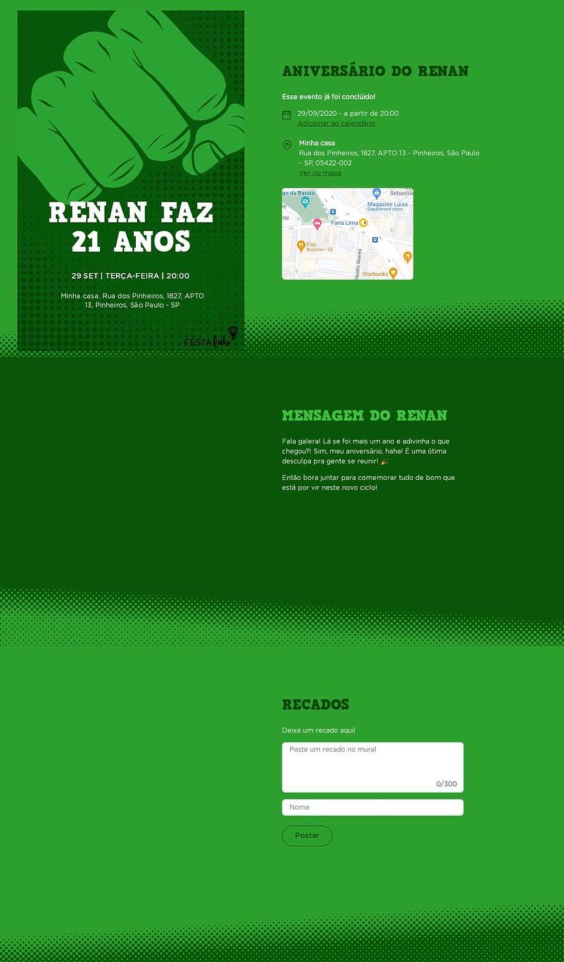 Convite online de aniversário - Hulk Smash| FestaLab