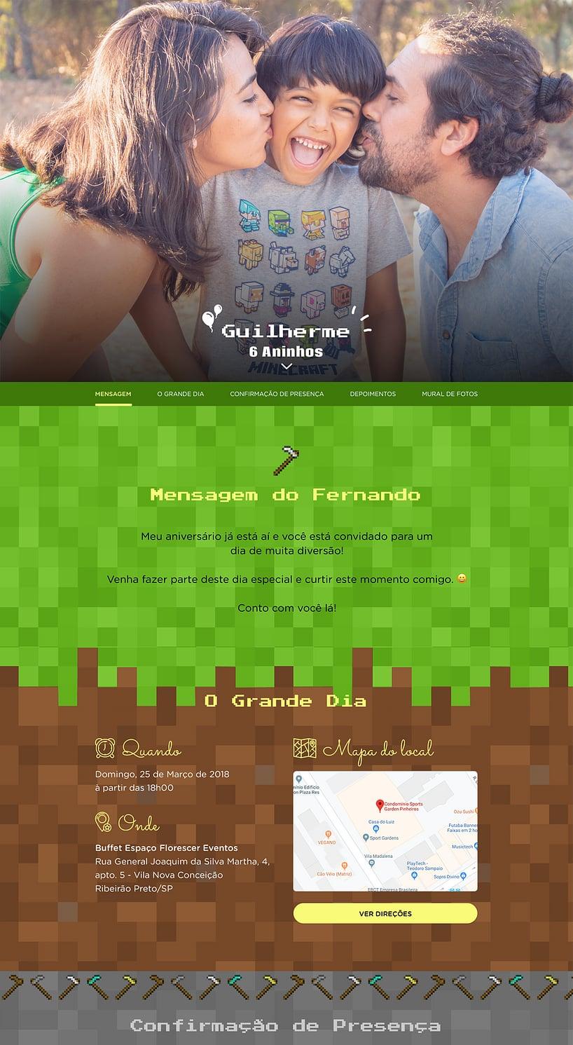 Vibe de Aniversario - Minecraft