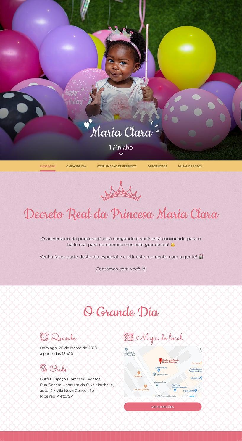 Vibe de Aniversario - Princesa