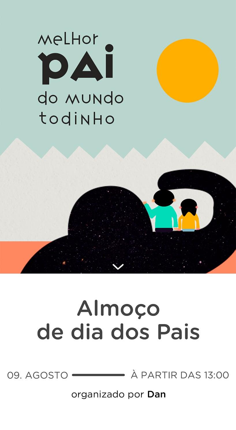 Website comemorativo - Dia dos Pais