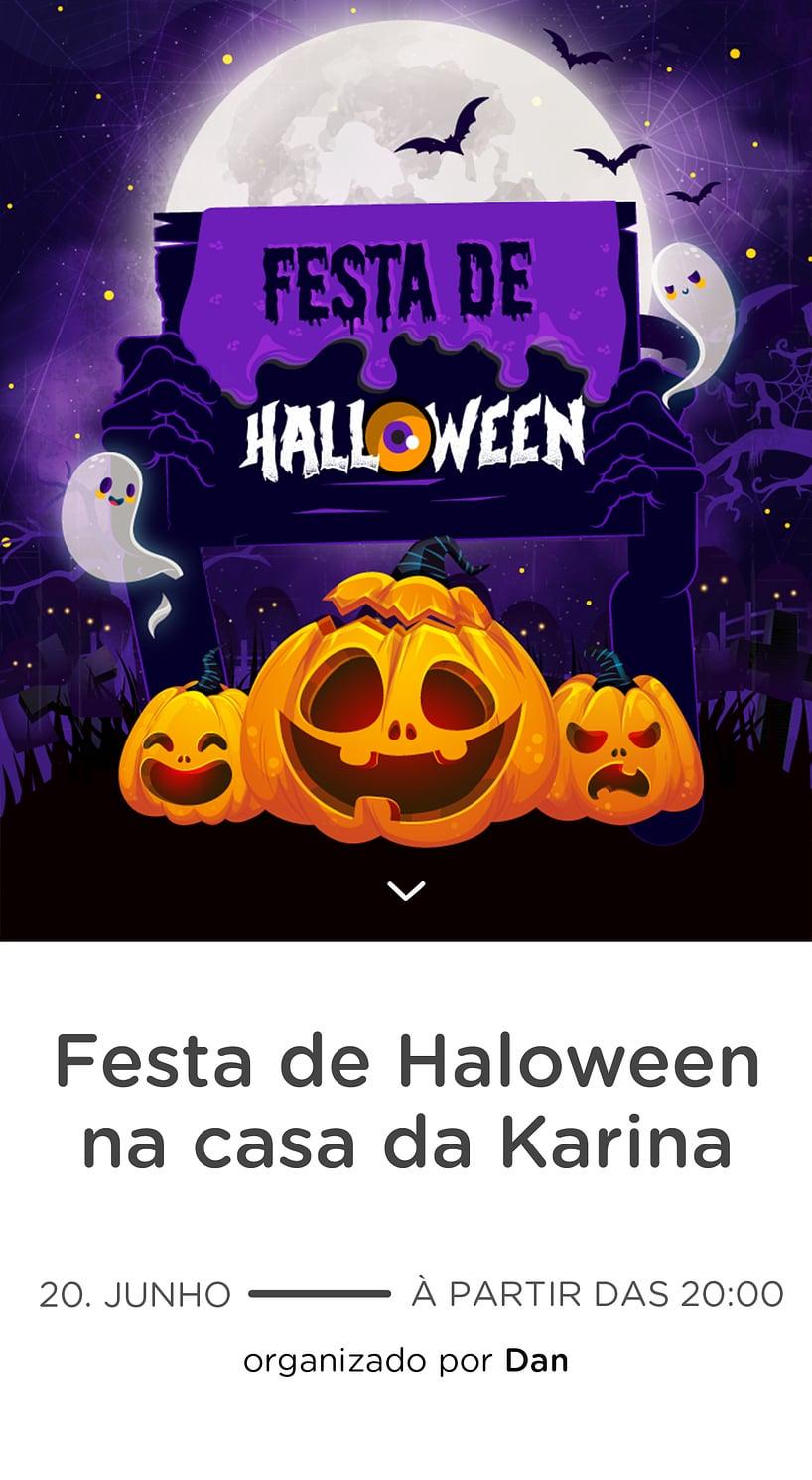 Vibe de Ocasioes especiais - Halloween