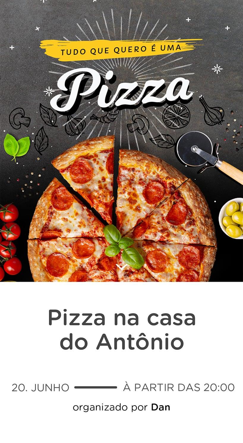 Vibe de Ocasioes especiais - Pizza